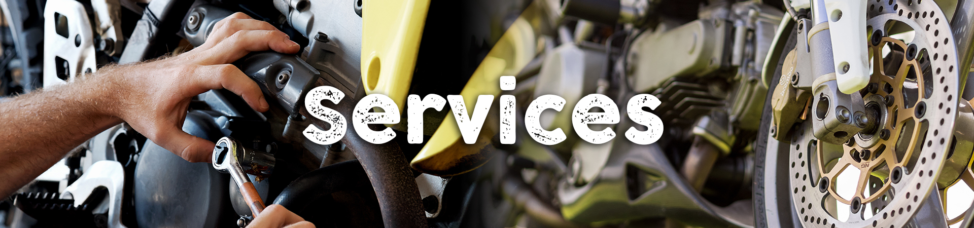 mechanic fixing motocycle engine reno repair services